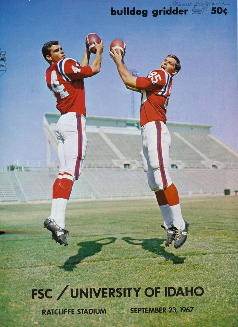 item thumbnail for Football Program: Idaho vs Fresno State College, 09/23/1967, Ratcliffe Stadium, Fresno (California)