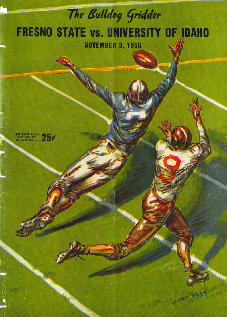 item thumbnail for Football Program: Idaho vs Fresno State College, 11/03/1956, Neale Stadium, Moscow (Idaho)