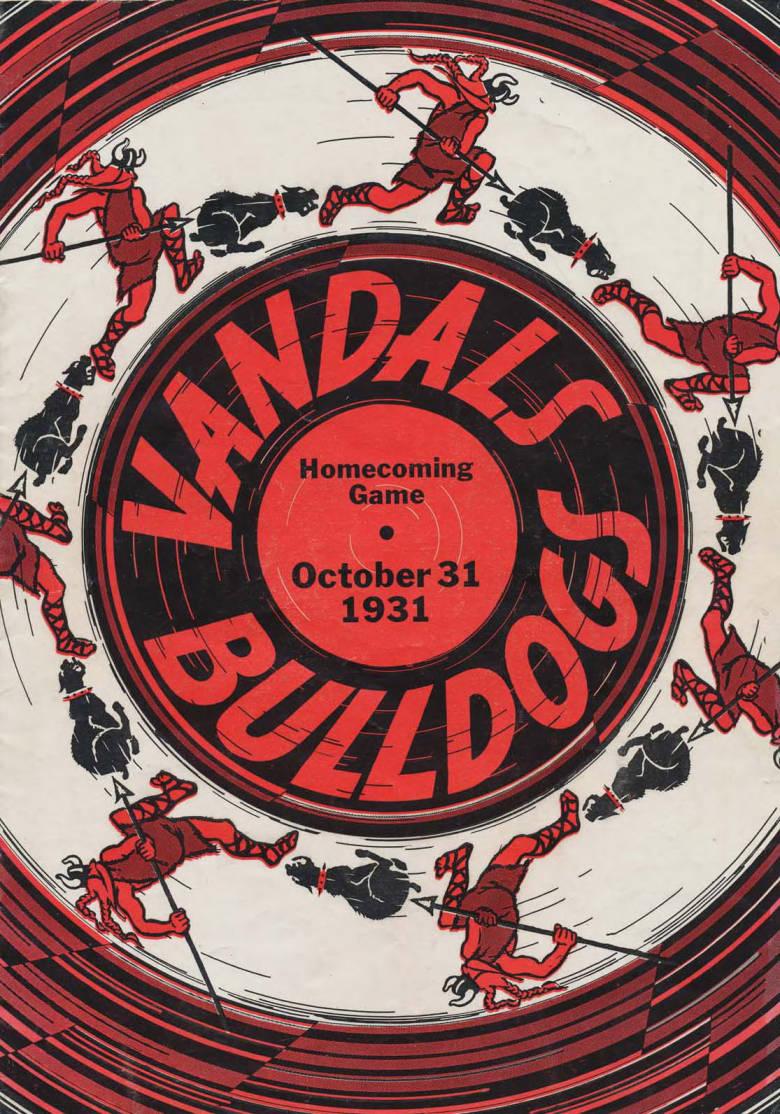 item thumbnail for Football Program: Idaho vs Gonzaga University, 10/31/1931, Neale Stadium, Moscow (Idaho)
