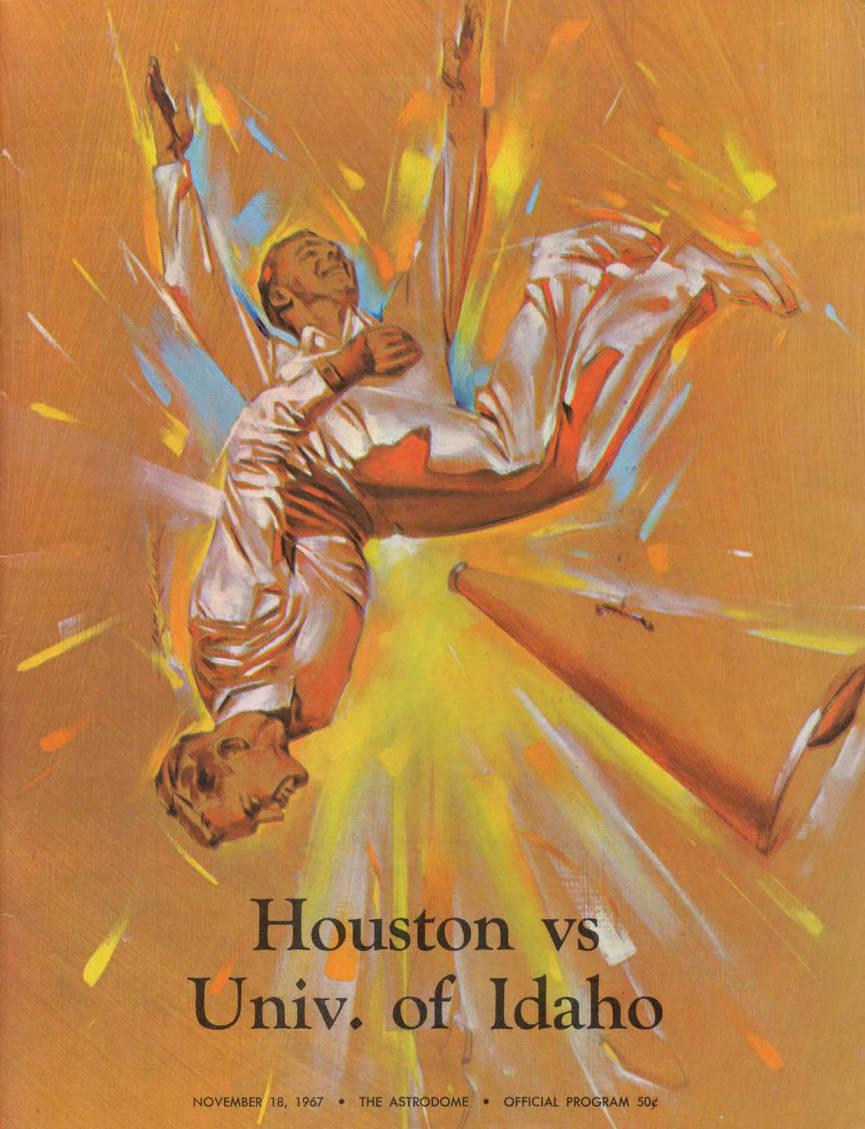 item thumbnail for Football Program: Idaho vs University of Houston, 11/18/1967, Robertson Stadium, Houston (Texas)