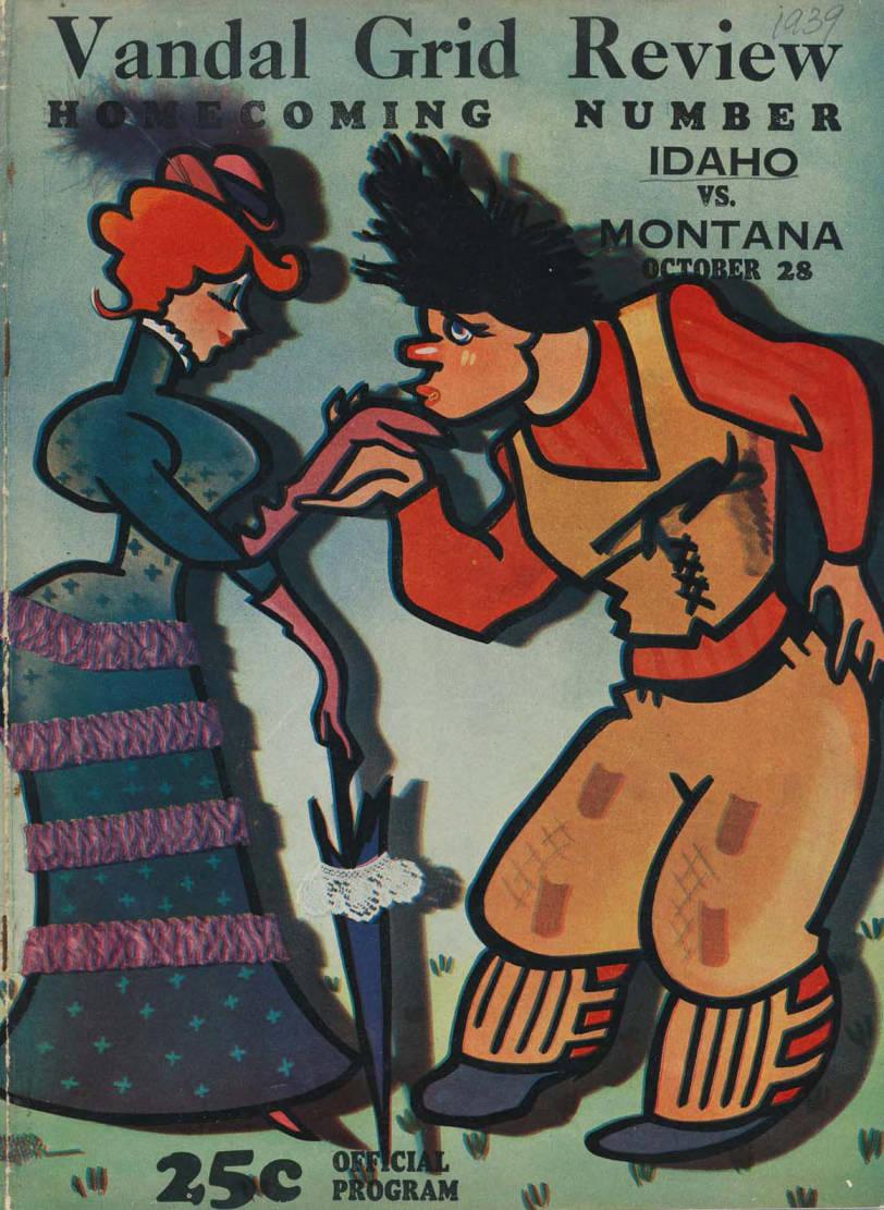 item thumbnail for Football Program: Idaho vs University of Montana, 10/28/1939, Neale Stadium, Moscow (Idaho)