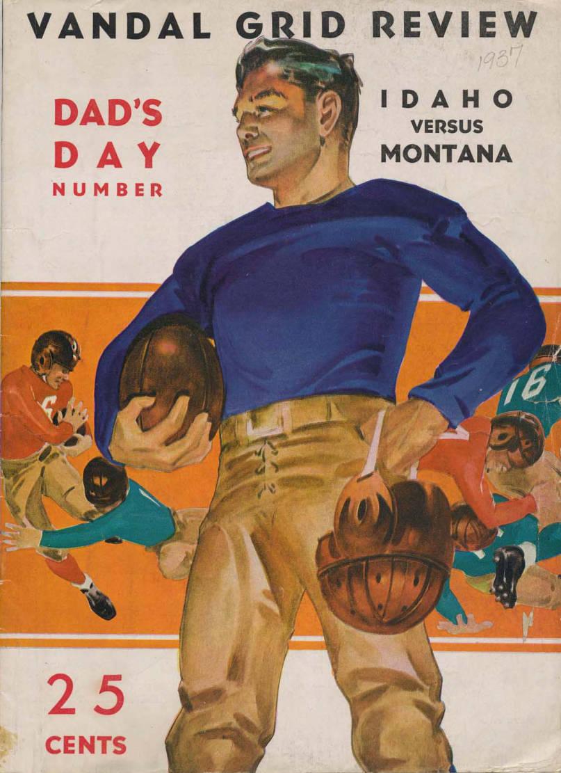 item thumbnail for Football Program: Idaho vs University of Montana, 01/01/1937, Neale Stadium, Moscow (Idaho)