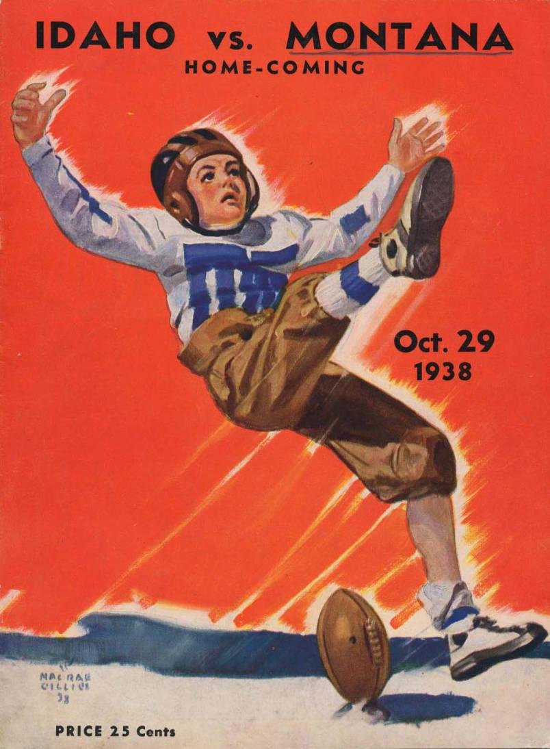 item thumbnail for Football Program: Idaho vs Montana State University, 10/29/1938, Neale Stadium, Moscow (Idaho)