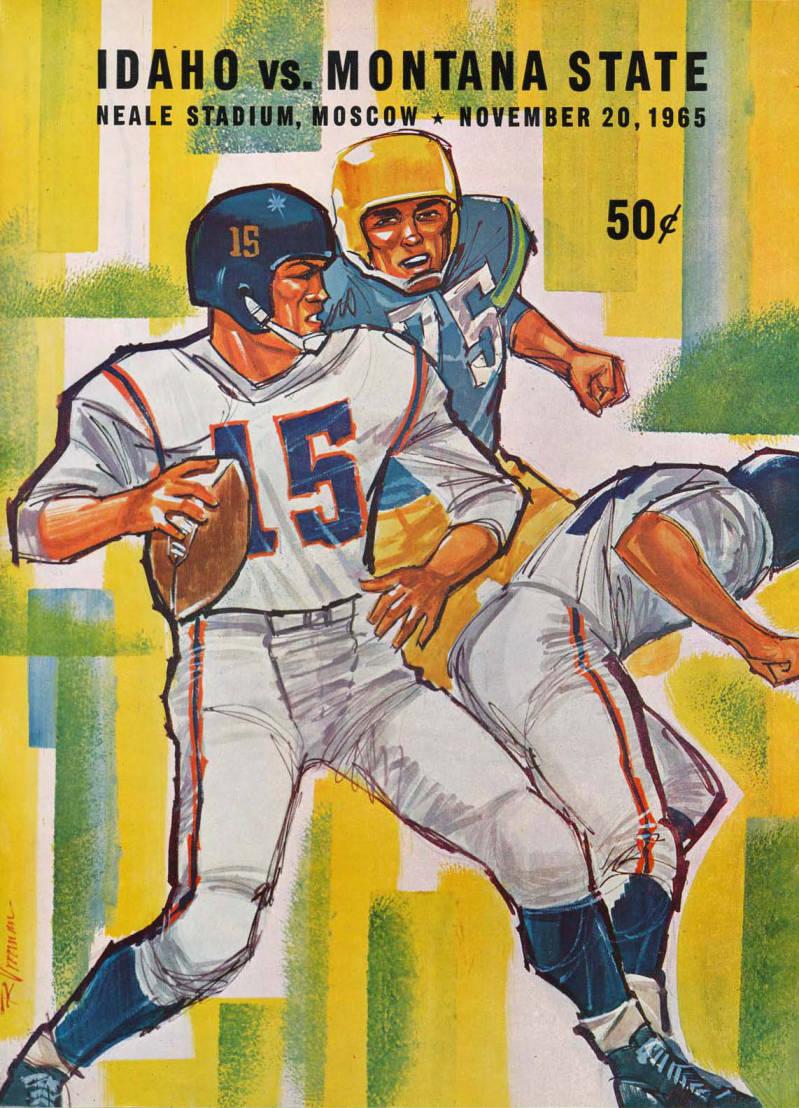 item thumbnail for Football Program: Idaho vs North Dakota State, 11/20/1965, Neale Stadium, Moscow (Idaho)