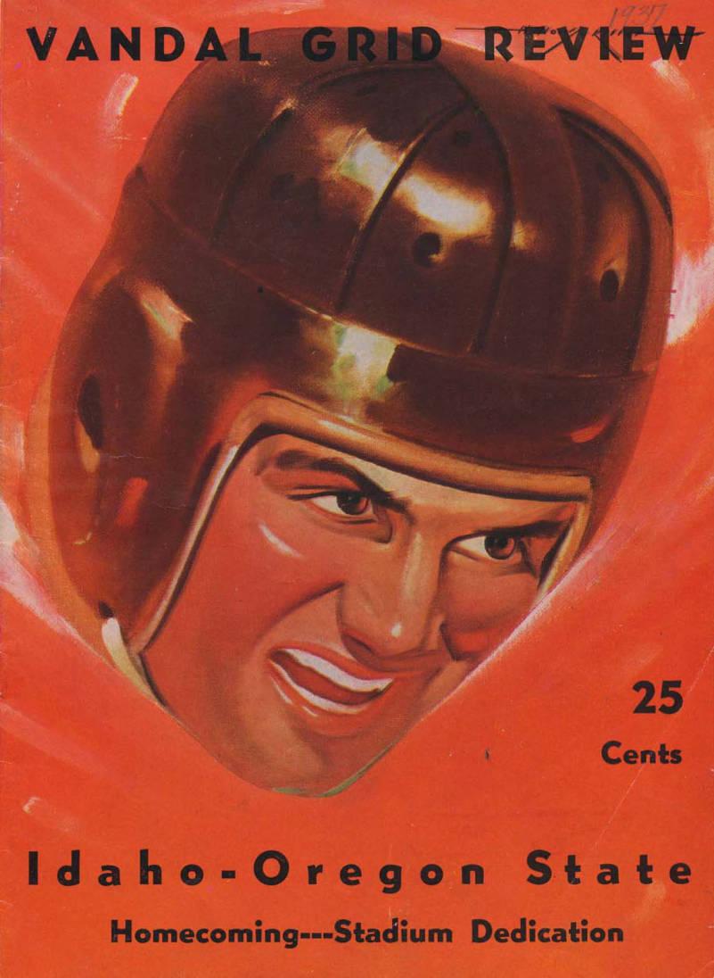 item thumbnail for Football Program: Idaho vs Oregon State, 09/25/1937, Neale Stadium, Moscow (Idaho)