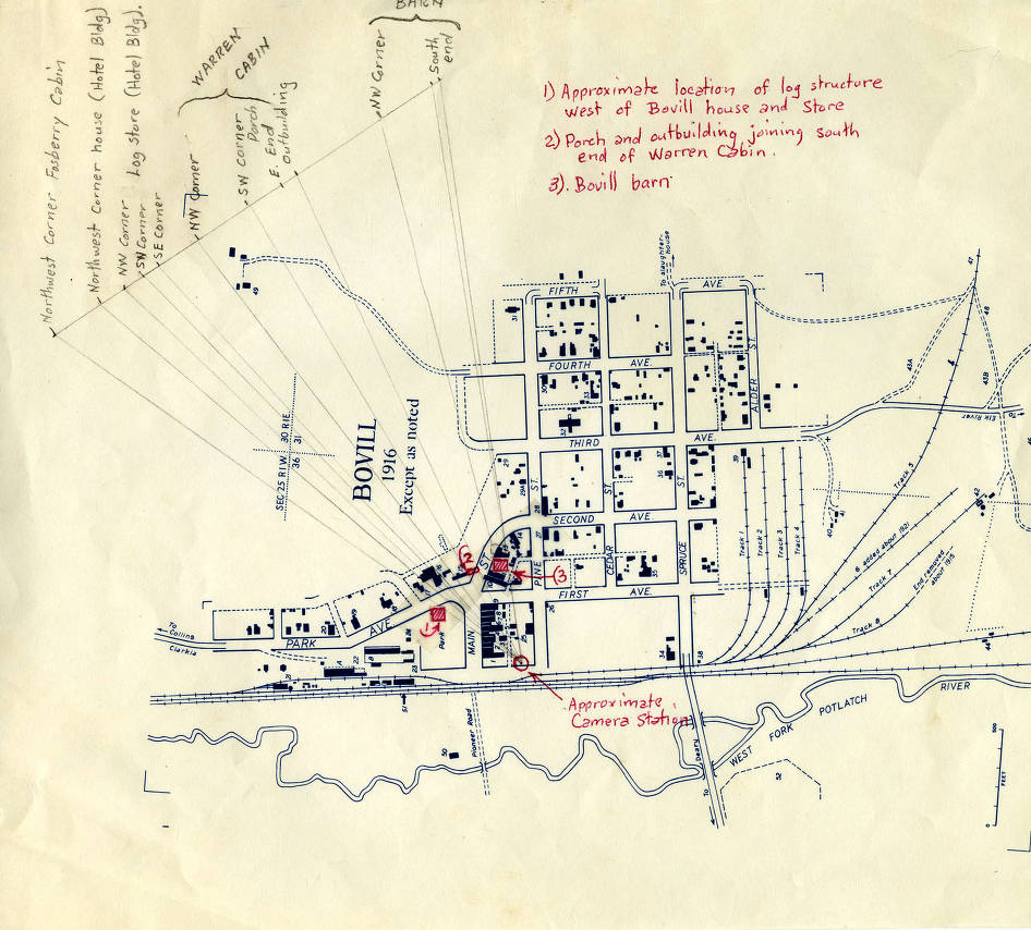 item thumbnail for Map of Bovill