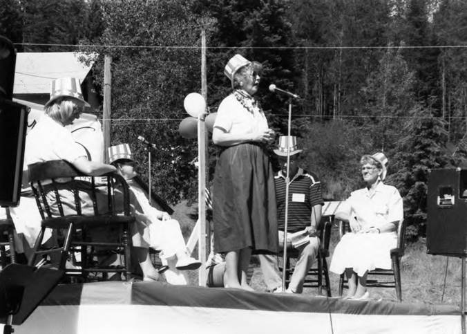 Speaker on Stage during Statehood Day