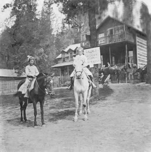 item thumbnail for Bovill Residents Riding Horses
