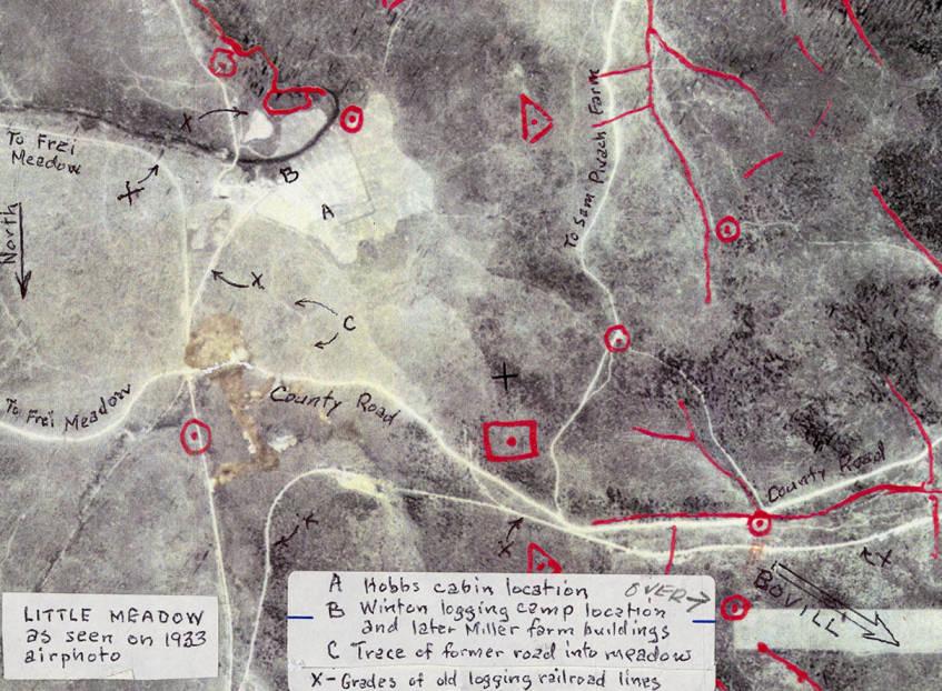 Map of Little Meadow