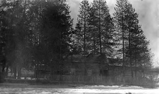 View of the Warren Cabin
