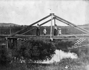 item thumbnail for Bridge on Potlatch Creek