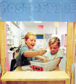 """item thumbnail for Play at a """"""""Post Office"""""""" During Kidstown"""