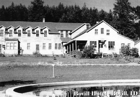 item thumbnail for View of the Bovill Hotel