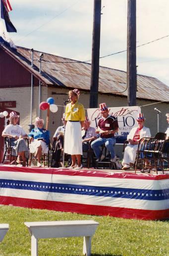 item thumbnail for Carol Reynolds Speaking on Statehood Day