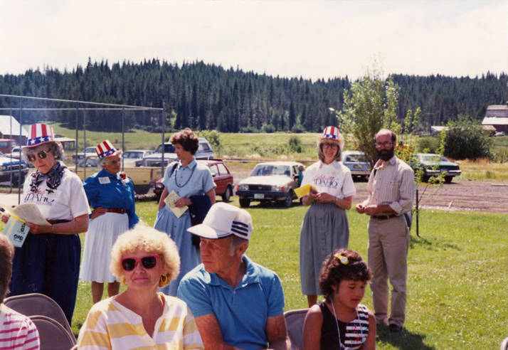 Bovill Residents during Statehood Day