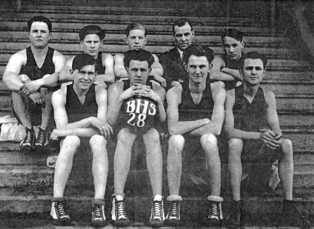 item thumbnail for The 1928 Bovill High School Basketball Team