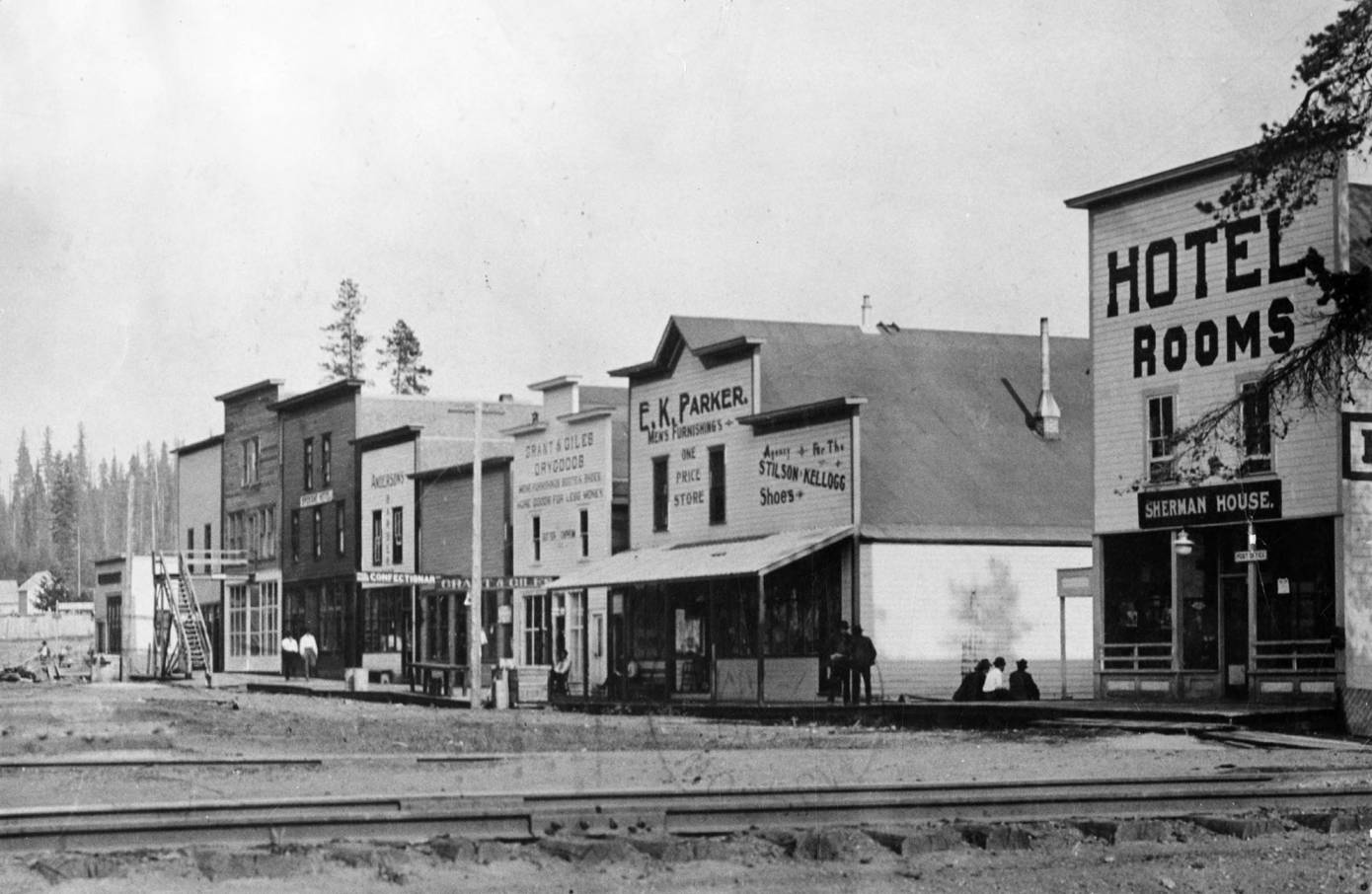 Main Street Before the 1914 Fire