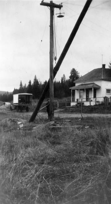 item thumbnail for Raising Electric Utility Poles