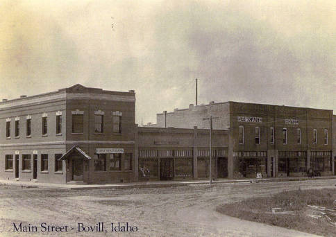 item thumbnail for Stores Line Bovill's Main Street