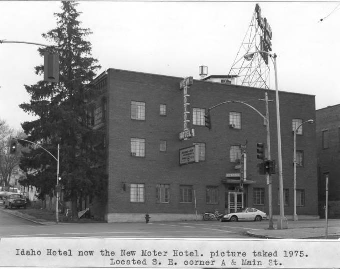 item thumbnail for Idaho Hotel, now the New Moter (sic) Hotel