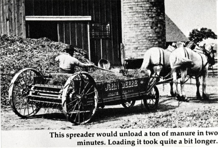 item thumbnail for John Deere article about spreaders