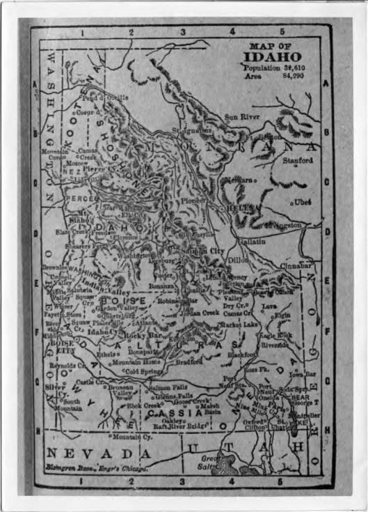 item thumbnail for Map of Idaho