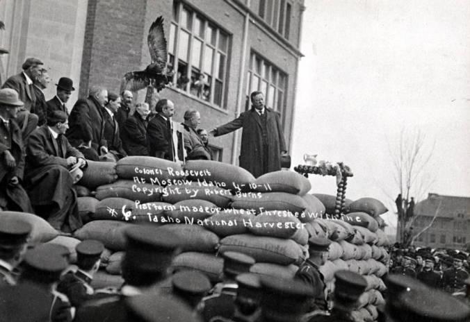 item thumbnail for University of Idaho during Roosevelt's visit
