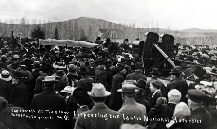 item thumbnail for University of Idaho campus during Roosevelt Speech