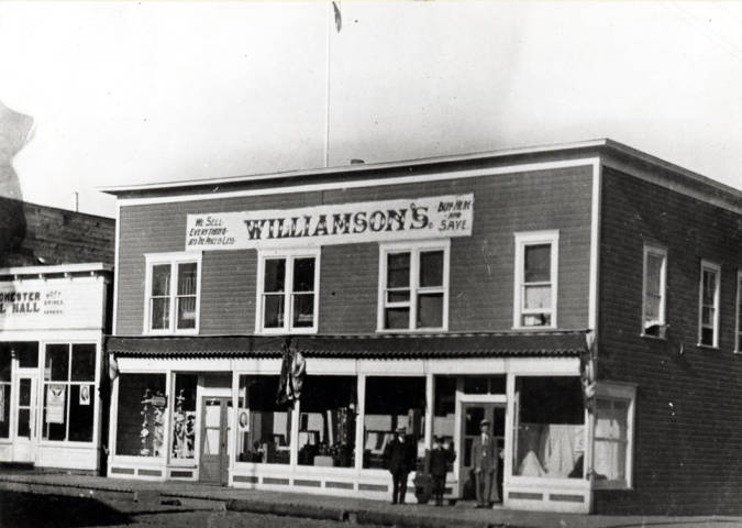 item thumbnail for Williamson store in Winchester, Idaho