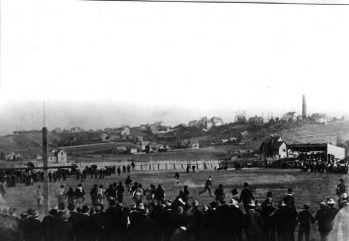 item thumbnail for Idaho versus W.S.C. [Washington State College] baseball game in 1905