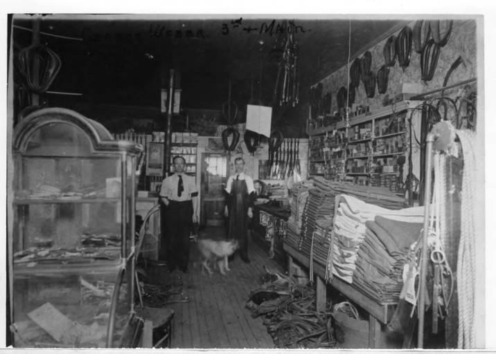 item thumbnail for George [Gottfried] Weber Harness Shop [01]