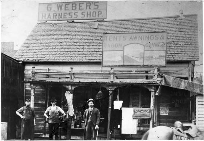 item thumbnail for George [Gottfried] Weber Harness Shop [02]