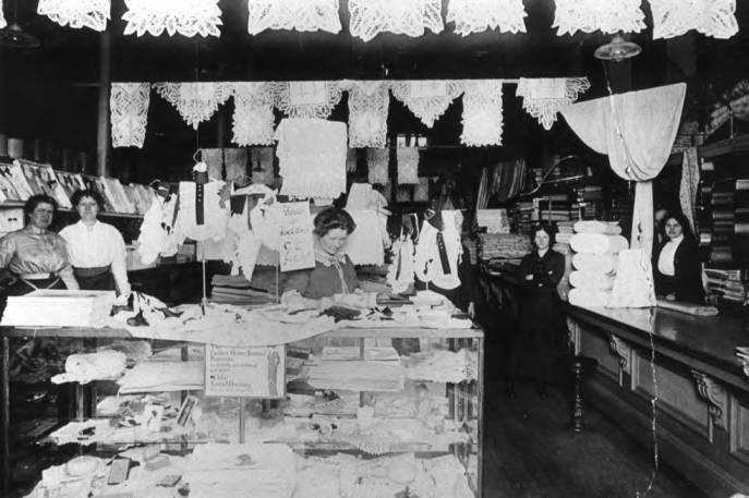 item thumbnail for Davids' dry goods department in 1912