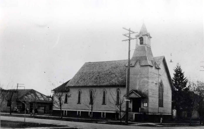 item thumbnail for Baptist Church, May 1932