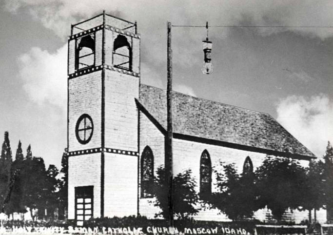 item thumbnail for Roman Catholic Church at NW 1st and Howard Street
