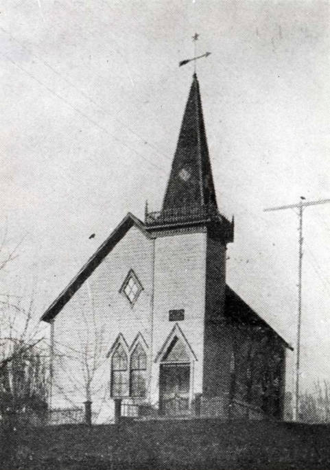 item thumbnail for Swedish Lutheran Church at NW 2nd and Van Buren Street [02]