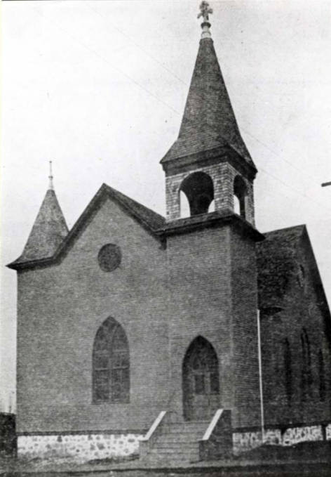 item thumbnail for Swedish Lutheran Church at 2nd and Van Buren Street [01]