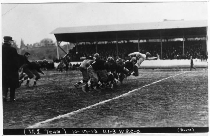 item thumbnail for Kickoff, Idaho - Washington State College Game, October 17, 1913