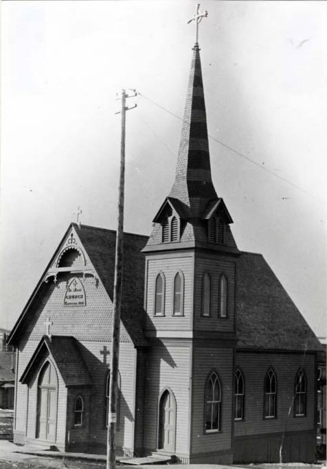 item thumbnail for Episcopalian Church at SW 1st & Jefferson St