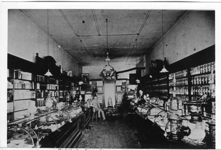 item thumbnail for Hodgin's Drug Store on June 23, 1902