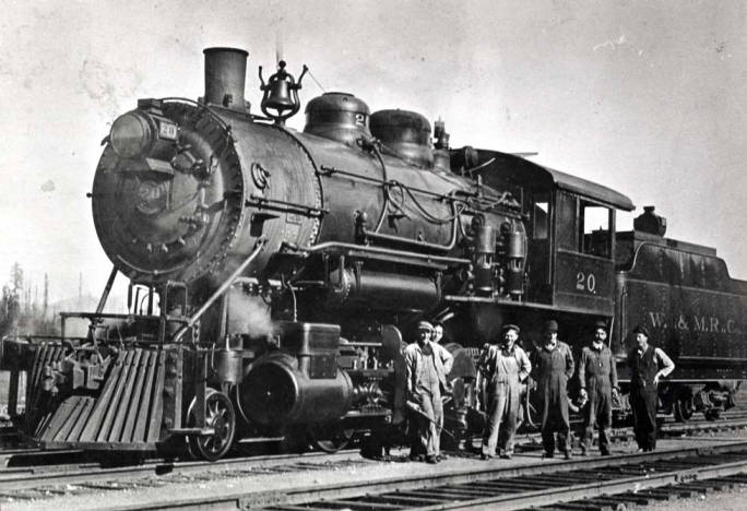 item thumbnail for Train, steam engine no 20