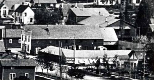 item thumbnail for Feed sheds at E Washington St [02]
