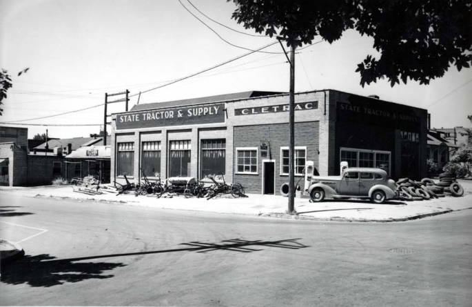 item thumbnail for State Tractor Supply service station at NW 6th and Washington St