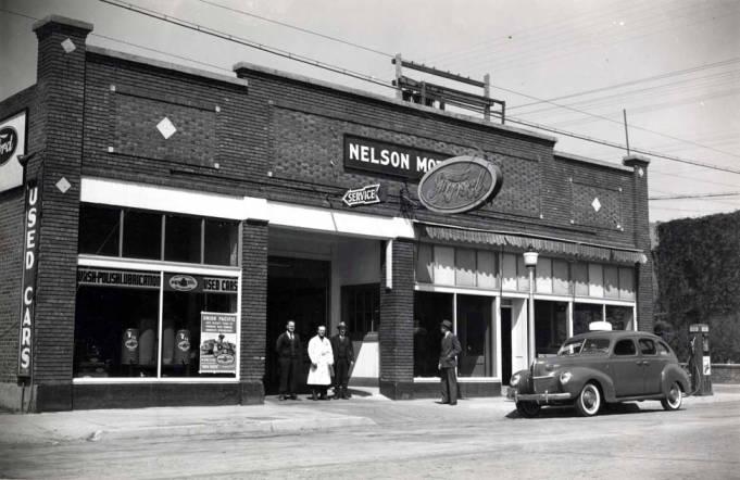 item thumbnail for Nelson Motor's Ford dealership at N 3rd St