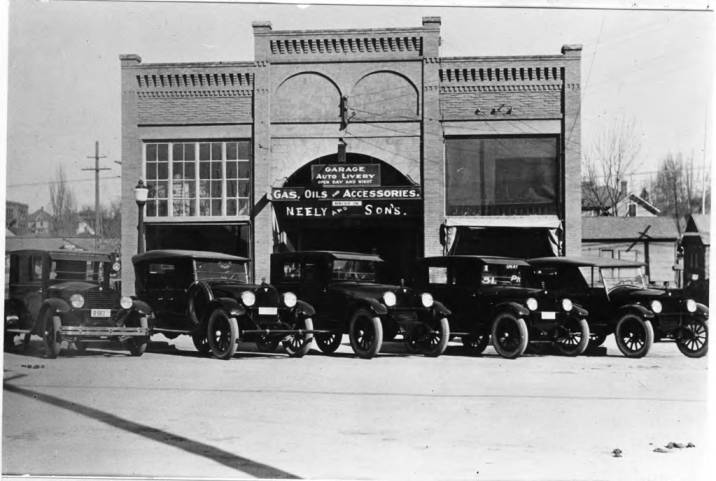 item thumbnail for Neely and Sons Garage, originally the Crystal Theater