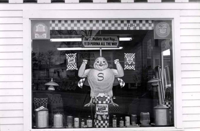 item thumbnail for Washburns Farm Store window display