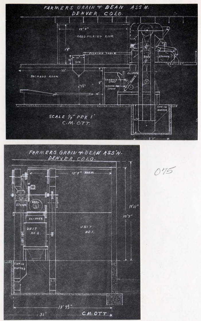 item thumbnail for Blue prints for bag-packaging machine