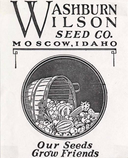 item thumbnail for Washburn-Wilson Seed Company advertisement