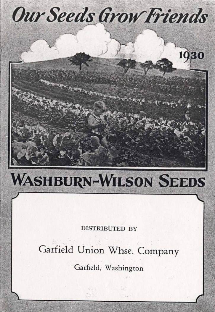 item thumbnail for Washburn-Wilson Seed Company advertisement, circa 1935