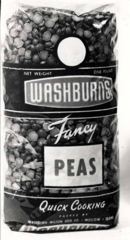 item thumbnail for Washburn-Wilson Seed Company fancy peas package, circa 1945